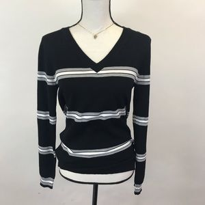 NWT Hippie Rose fitted striped sweater M